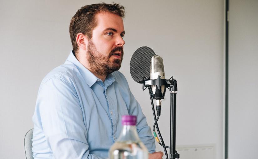 Benjamin Beloch ist nicht nur Gründer, sondern auch Unternehmensnachfolger. Davon berichtet er im Podcast-Interview. Gründer und Nachfolger Benjamin Beloch (Gronau). - Foto: © opwoco Media GmbH
