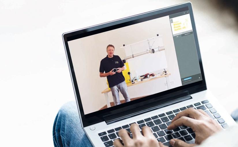 SitaCampus online: Webinare ersetzen aktuell die Präsenz-Seminare. - Foto: sita bauelemente