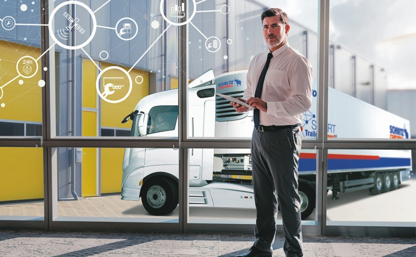 "Digitaler Spitzenreiter: Schmitz Cargobull ist ""Digital-Champion 2021"""