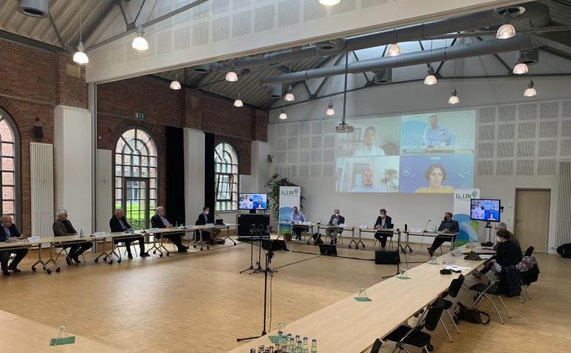Amprion onLine-Pressekonferenz. - Foto: Nina Kleene.