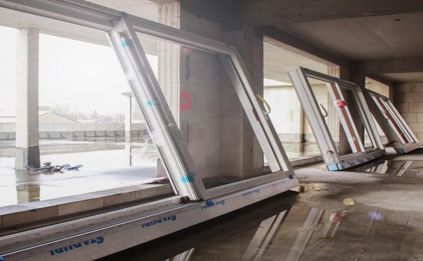 """261 Fenster, 99 Hebe-Schiebetüren und 65 Haustüren hat German Windows (Südlohn-Oeding) in den Bocholter """"Ostwall Terrassen"""" verbaut. Dabei unterstützte das Unternehmen seinen Auftraggeber bereits während der Planung und Arbeitsvorbereitung. - Foto: GW GERMAN WINDOWS, Südlohn-Oeding"""