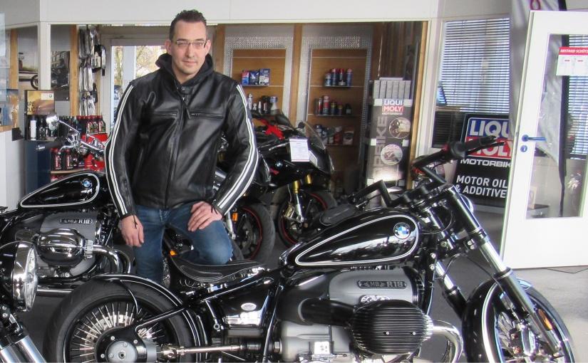 Als langjähriger Mitarbeiter übernahm Patrick Lehr die Firma Motorrad Bögel in Ibbenbüren. - Foto: © Lehr