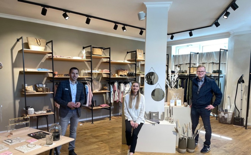 """Neueröffnung des Concept Store """"bei EVA"""" am Marktplatz in Büren"""