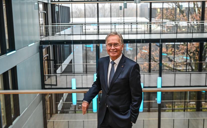 Ortwin Goldbeck, heute 82 Jahre alt, gründete vor mehr als 50 Jahren das gleichnamige Bau- und Immobilienunternehmen. - Foto: Daniel Biskup