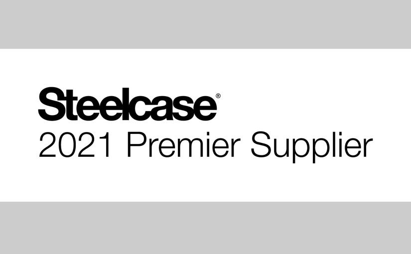 """Ninkaplast GmbH ist Steelcase """"Premier Supplier 2021"""""""