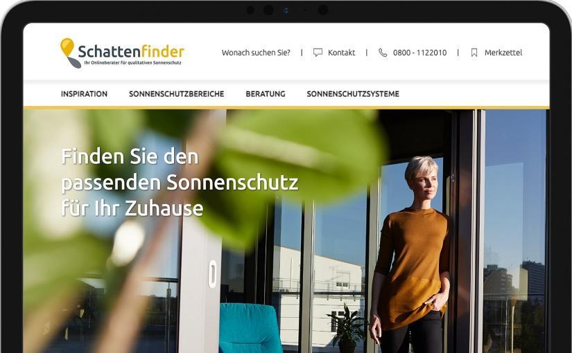 Erstes hochwertiges Onlineportal zum Thema Sonnenschutz