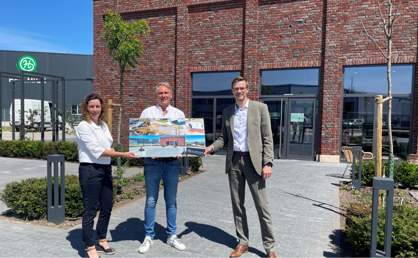 Hellmich GmbH: EWG gratuliert zur Fertigstellung neuer Räumlichkeiten