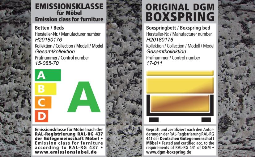 DGM: Hersteller Meise Möbel für seine Bettenqualität ausgezeichnet