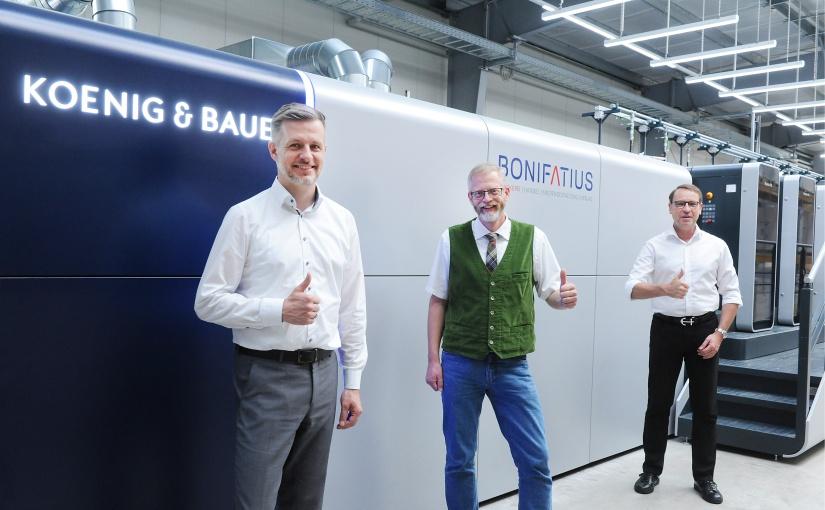 Bonifatius: Nachhaltige Drucktechnologie für die Zukunft