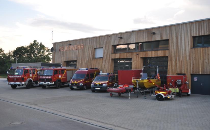 Im Alarmfall benötigt die Feuerwehr etwa 3,5 – 4 kW Strom, unter anderem zum Öffnen der Tore. - Foto: Feuerwehr Walheim