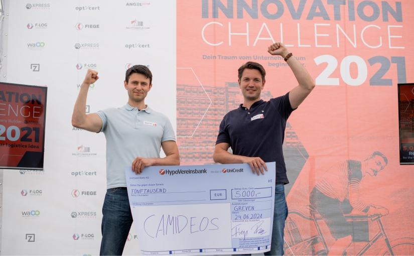 Vierter FIEGE Innovation Challenge: Erster Platz für Start-up Camideos