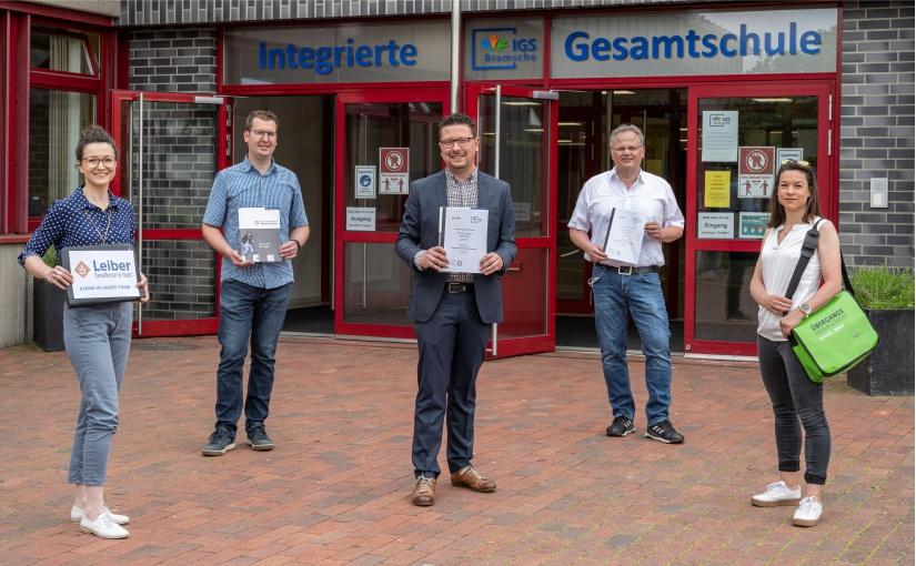 IGS Bramsche und Leiber GmbH kooperieren bei Berufsorientierung