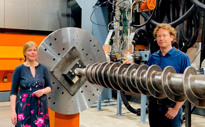 Von der WIGOS unterstütz investiert Stahlotec in Laserschweißanlage