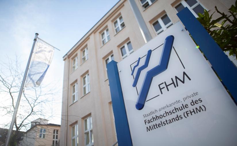 Die FHM am Standort Bielefeld. - Foto: FHM
