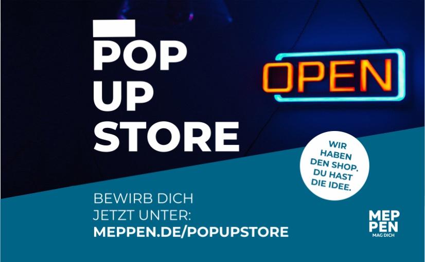 Wirtschaftsförderung Meppen eröffnet Pop-Up-Store am Marktplatz
