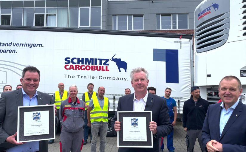 """Doppelsieg für Schmitz Cargobull beim Imagepreis """"Beste Marke"""""""