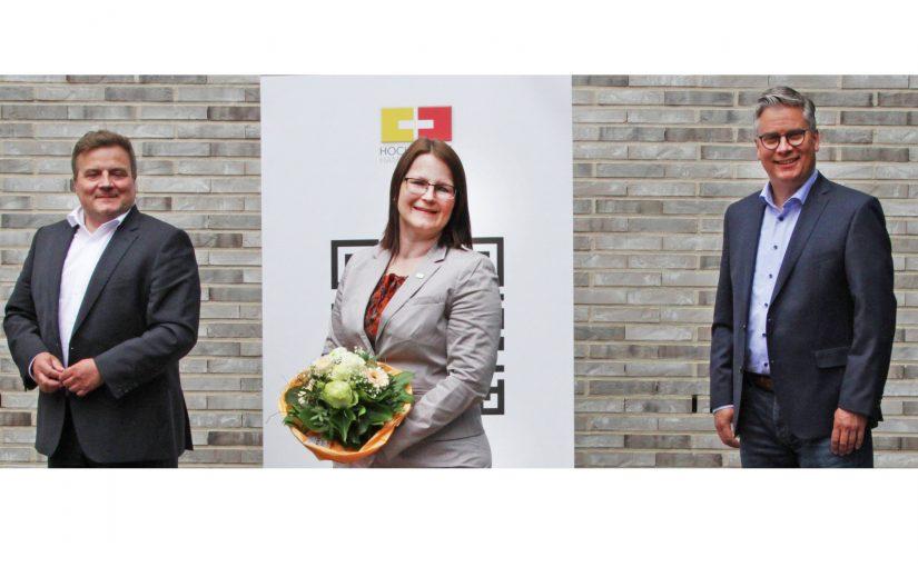 Hochschulpräsidentin persönlich in Lippstadt begrüßt