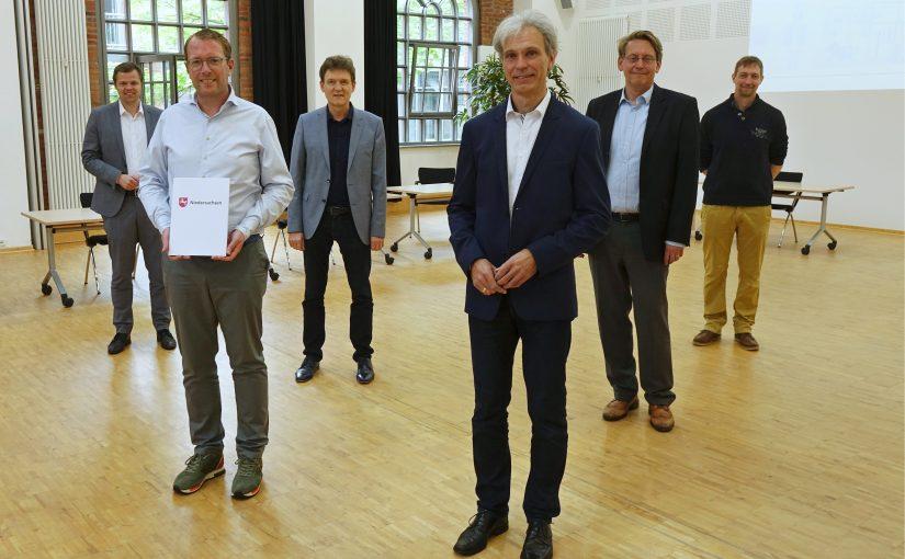 Raum zum Experimentieren und Gründen: IT-Zentrum Lingen wird erweitert