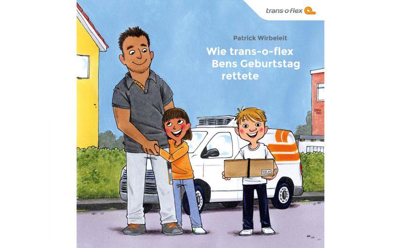 Zum Weltkindertag: trans-o-flex veröffentlicht Kinderbuch
